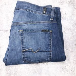 7 For all Mankind Denim Blue Jeans